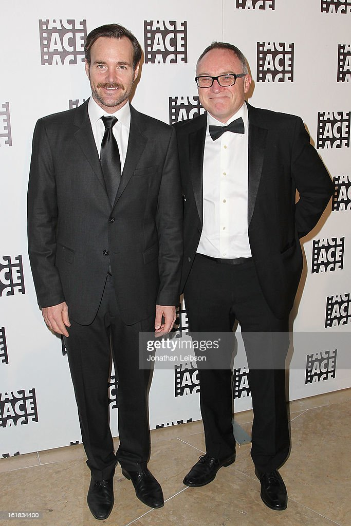 <a gi-track='captionPersonalityLinkClicked' href=/galleries/search?phrase=Will+Forte&family=editorial&specificpeople=2155213 ng-click='$event.stopPropagation()'>Will Forte</a> and Kevin Tent attend the 63rd Annual ACE Eddie Awards at The Beverly Hilton Hotel on February 16, 2013 in Beverly Hills, California.