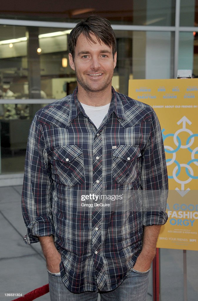 Will Forte arrives at the Los Angeles Premiere of 'A Good Old Fashioned Orgy' at the ArcLight Theater on August 25 2011 in Hollywood California