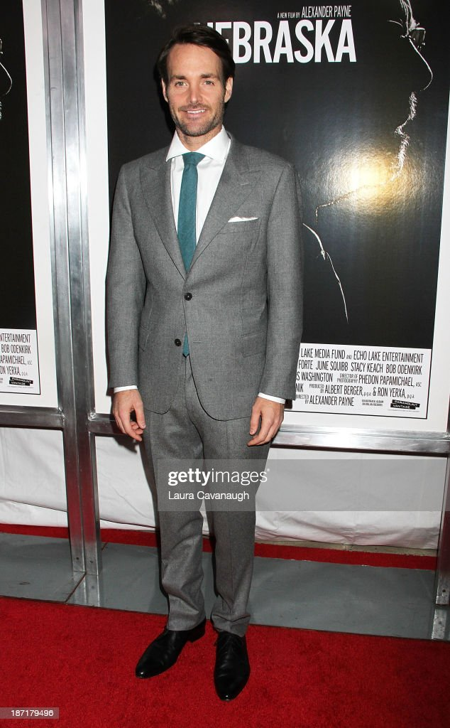 <a gi-track='captionPersonalityLinkClicked' href=/galleries/search?phrase=Will+Forte&family=editorial&specificpeople=2155213 ng-click='$event.stopPropagation()'>Will Forte</a> attends the 'Nebraska' screening at Paris Theater on November 6, 2013 in New York City.