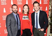Will Forte Olivia Wilde and Jason Sudelkis attend the 2016 Atlantic Theater Company Actors' Choice Gala at The Pierre Hotel on March 7 2016 in New...