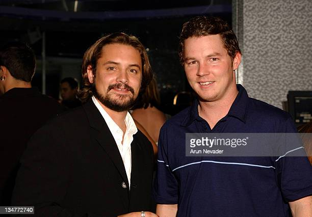 Will Friedle and Shawn Hatosy during CineVegas Film Festival 2003 Filmmakers After Party at the Ghostbar at Palms Casino Resort in Las Vegas Nevada...