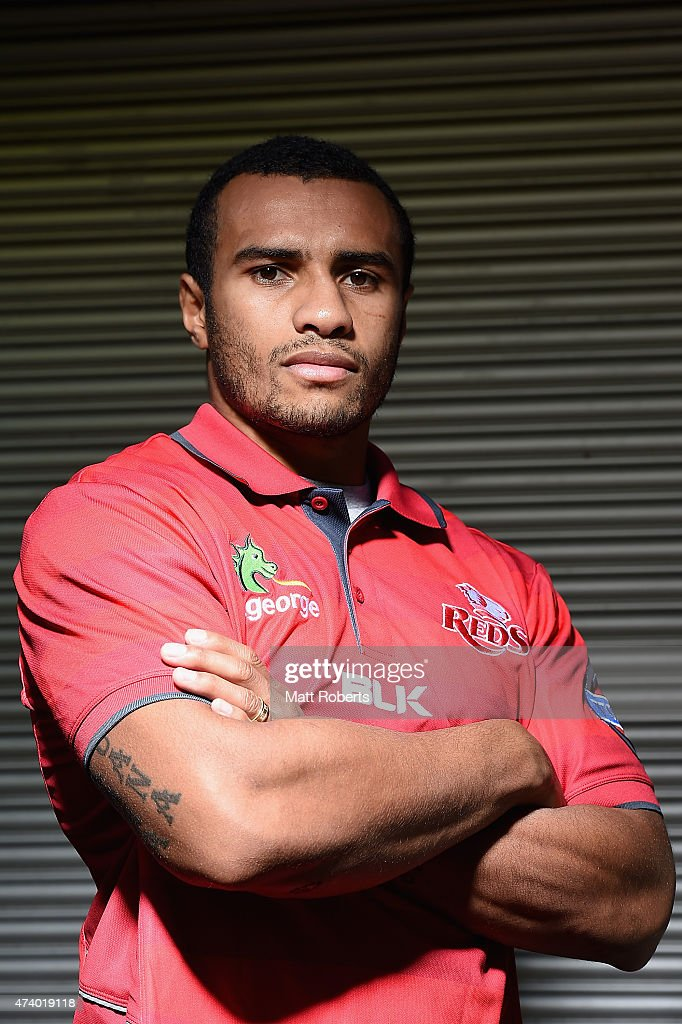<a gi-track='captionPersonalityLinkClicked' href=/galleries/search?phrase=Will+Genia&family=editorial&specificpeople=4110822 ng-click='$event.stopPropagation()'>Will Genia</a> poses for a photograph during a Queensland Reds Super Rugby media opportunity at Ballymore Stadium on May 20, 2015 in Brisbane, Australia.