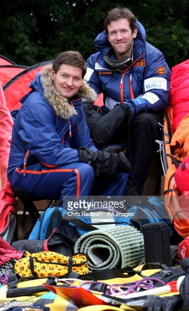 Will Gow and Henry Adams from Woodbridge Suffolk who are planning to trek to the South Pole and recreate the 1909 Nimrod Expedition originally...