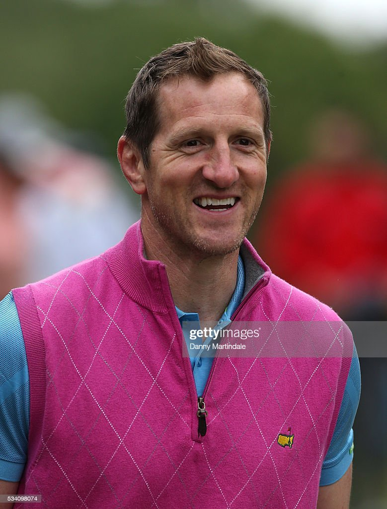 Will Greenwood attend the BMW PGA Celebrity Pro-Am Golf Championship at Wentworth on May 25, 2016 in Virginia Water, England.