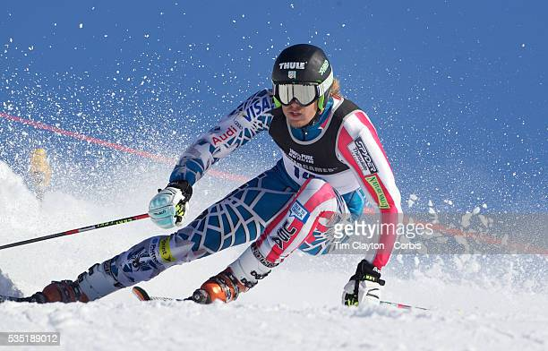 Will Gregorak USA in action during the Men's Giant Slalom competition at Coronet Peak New Zealand during the Winter Games Queenstown New Zealand 22nd...