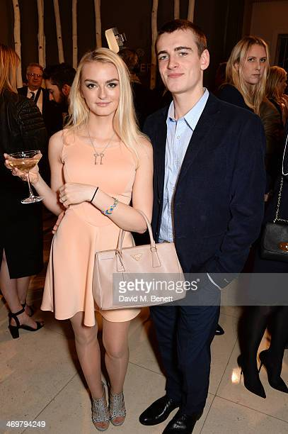 Will Heard attends the Mulberry dinner to celebrate the launch of the Cara Delevingne Collection at Claridge's Hotel on February 16 2014 in London...