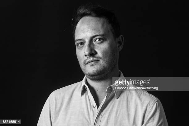 Will Hill attends a photocall during the Edinburgh International Book Festival on August 22 2017 in Edinburgh Scotland