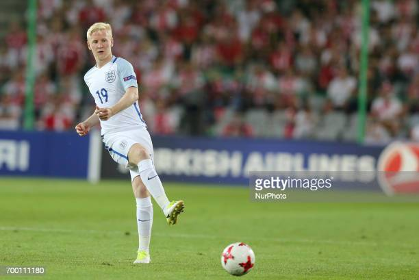 Will Hughes during the UEFA European Under21 Championship Group A match between England and Poland at Kielce Stadium on June 22 2017 in Kielce Poland