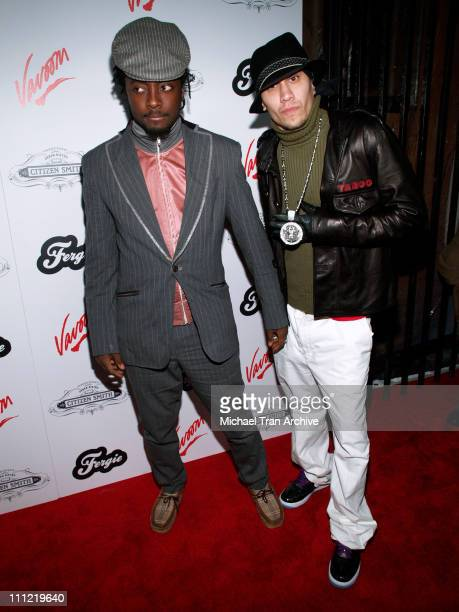 Will i Am and Taboo of The Black Eyed Peas during Fergie's Birthday Celebration at Citizen Smith in Hollywood Arrivals at Citizen Smith in Hollywood...