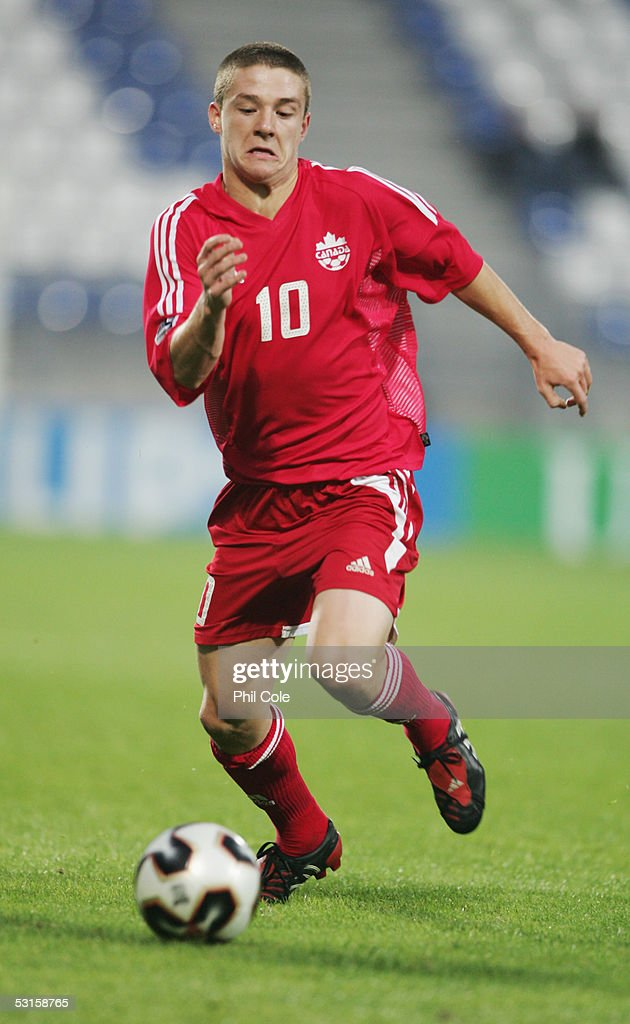 Will Johnson of Canada in action during the FIFA World Youth Championship match between Syria and Canada held at the Willem II Stadium on June 12...