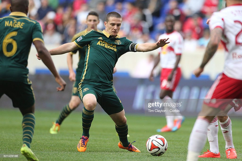 Will Johnson Portland Timbers in action during the New York Red Bulls Vs Portland Timbers Major League Soccer regular season match at Red Bull Arena...