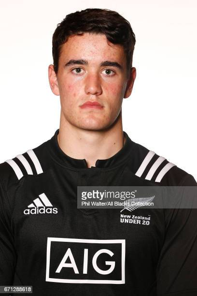 Will Jordan poses during the New Zealand U20 Headshots Session at Novotel Auckland Airport on April 22 2017 in Auckland New Zealand
