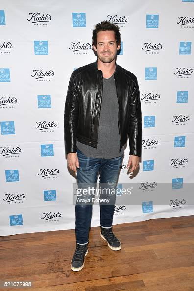 Will Kemp attends the unveiling of the Earth Day Partnership with Kiehl's for Recycle Across America at Kiehl's Since 1851 Santa Monica Store on...