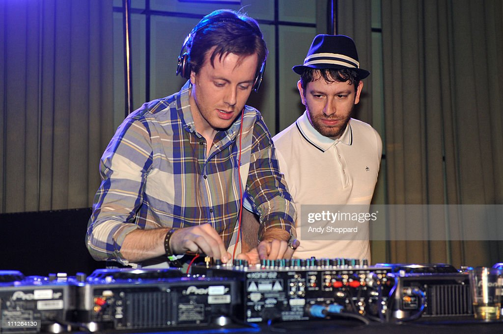 Will Kennard and Saul Milton of Chase Status perform during the Celebration of Pete Tong 20th Anniversary recording for BBC Radio 1 at BBC Maida Vale...