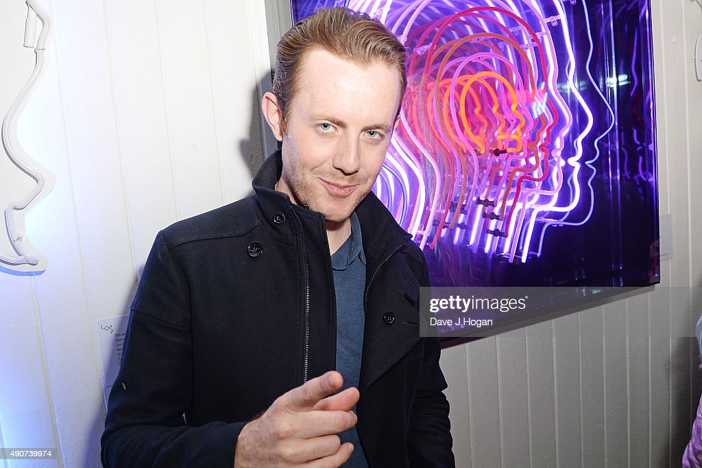 Will Kennard of Chase Status attends the Anne Mac Presents 2015 album launch party at Lights Of Soho on September 30 2015 in London England