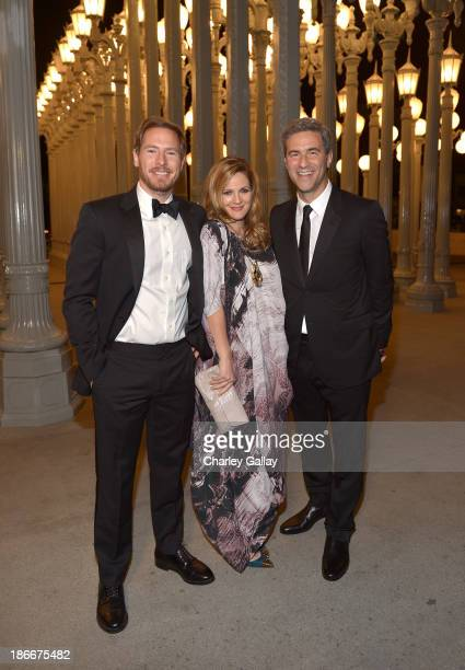 Will Kopelman actress Drew Barrymore and Director and CEO of LACMA Michael Govan attends the LACMA 2013 Art Film Gala honoring Martin Scorsese and...