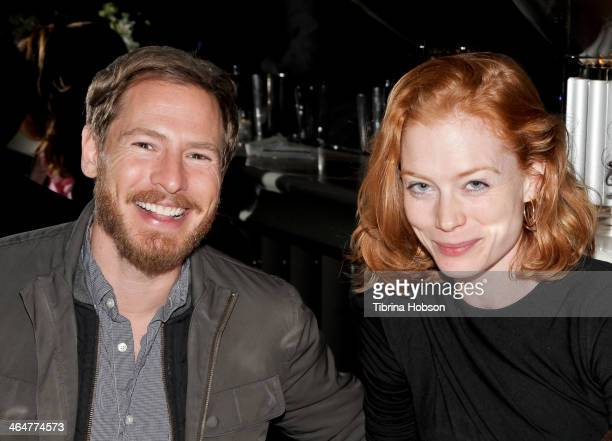 Will Kopelman and Jessica Joffe attend 'The Croods' VIP dinner at Mr Chow on January 23 2014 in Los Angeles California