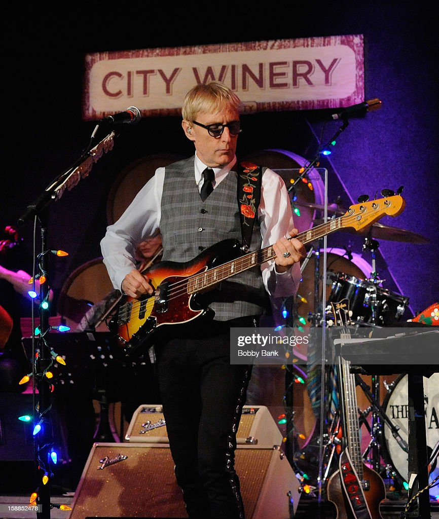 Will Lee of Fab Faux performs at City Winery on December 31, 2012 in New York City.