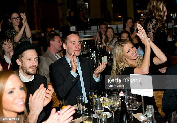 Will Malnati actor Taylor Kitsch and Jennifer Welch attend the 6th Annual African Children's Choir Changemakers Gala at City Winery on November 20...