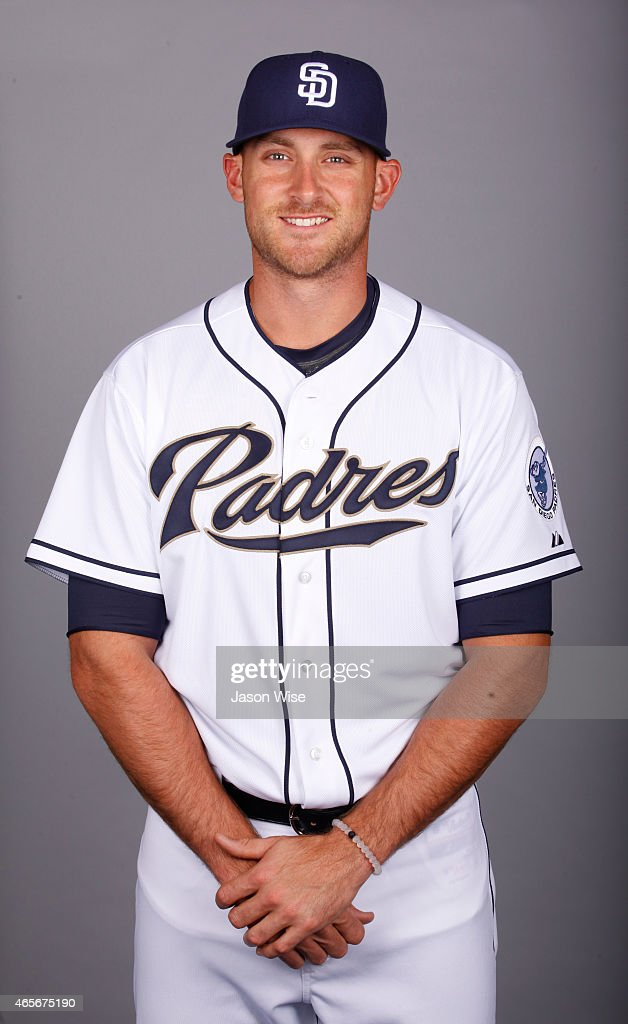 Will MIddlebrooks #11 of the San Diego Padres poses during Photo Day on Monday, March 2, 2015 at Peoria Stadium in Peoria, Arizona.
