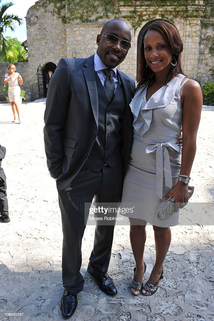 Will Packer and Guest attends Alem Gola and Oscar Joyner Wedding Ceremony on October 9, 2010 in Miami, Florida.