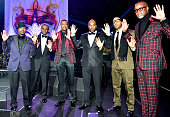 Will Packer Mayor Kasim Reed Chris Tucker Young Jeezy Ludacris and Johnathan Slocum attend the 2014 UNCF Mayor's Masked Ball at Atlanta Marriot...
