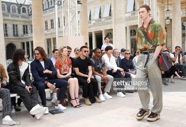Will Peltz Ben Robson Louis Vuitton's executive vice president Delphine Arnault Hidetoshi Nakata Victor Cruz Gong Yoo Chief Executive Officer of...