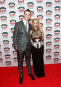 Will Poulter and MyAnna Buring pose uring the Jameson Empire Awards 2014 at the Grosvenor House Hotel on March 30 2014 in London England Regarded as...