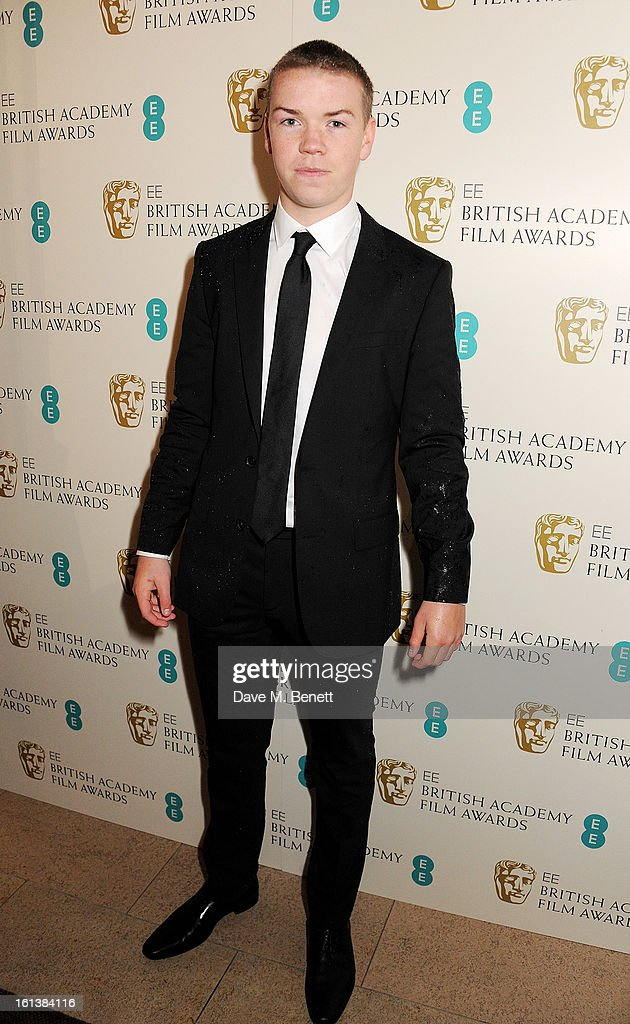 <a gi-track='captionPersonalityLinkClicked' href=/galleries/search?phrase=Will+Poulter&family=editorial&specificpeople=4599059 ng-click='$event.stopPropagation()'>Will Poulter</a> arrives at the EE British Academy Film Awards at the Royal Opera House on February 10, 2013 in London, England.