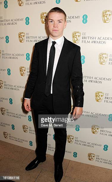 Will Poulter arrives at the EE British Academy Film Awards at the Royal Opera House on February 10 2013 in London England