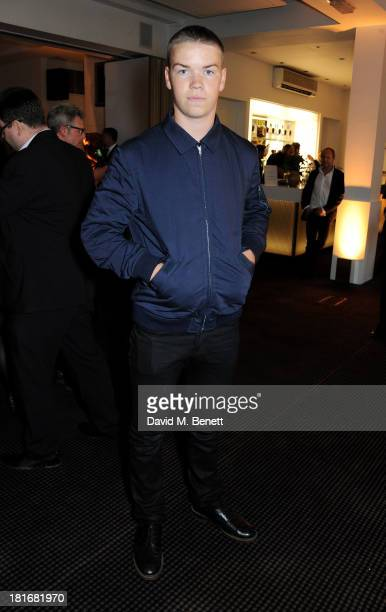 Will Poulter attends a special screening of 'Sunshine On Leith' hosted by Jamie Oliver and Dexter Fletcher at BAFTA on September 23 2013 in London...