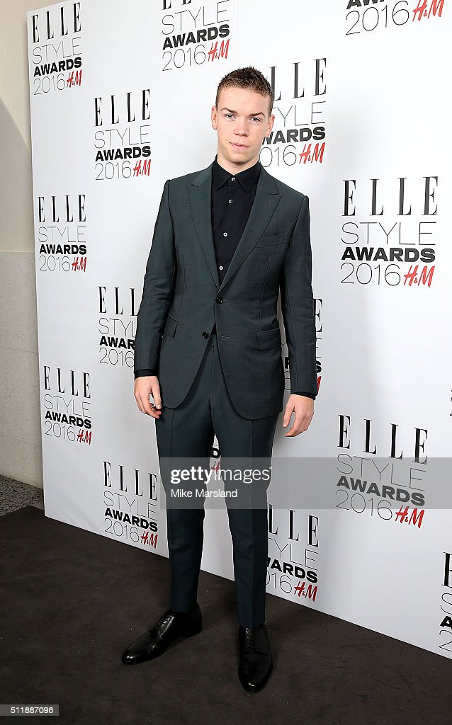Will Poulter attends The Elle Style Awards 2016 on February 23, 2016 in London, England.