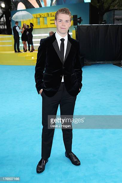 Will Poulter attends the European premiere of 'We're The Millers' at The Odeon West End on August 14 2013 in London England
