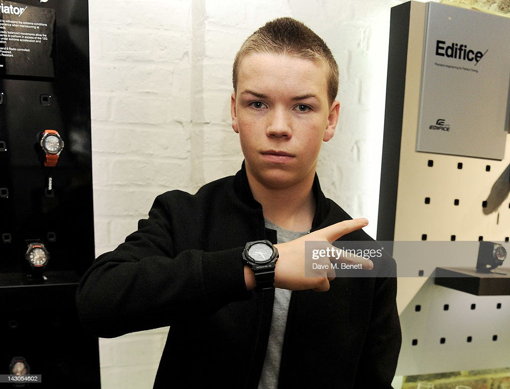 <a gi-track='captionPersonalityLinkClicked' href=/galleries/search?phrase=Will+Poulter&family=editorial&specificpeople=4599059 ng-click='$event.stopPropagation()'>Will Poulter</a> attends the launch of Casio London's Global Concept Store in Covent Garden Piazza on April 18, 2012 in London, England.