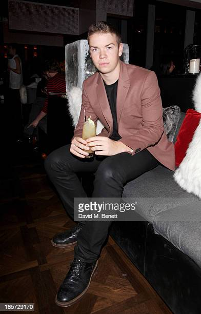 Will Poulter attends the launch of the W Republic of Verbier takeover at W London Leicester Square on October 24 2013 in London England