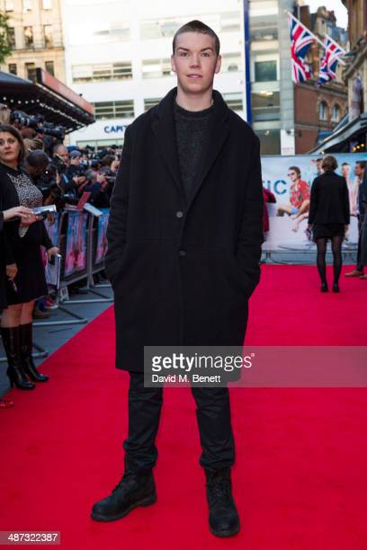 Will Poulter attends the UK Premiere of 'Plastic' at the Odeon West End on April 29 2014 in London England