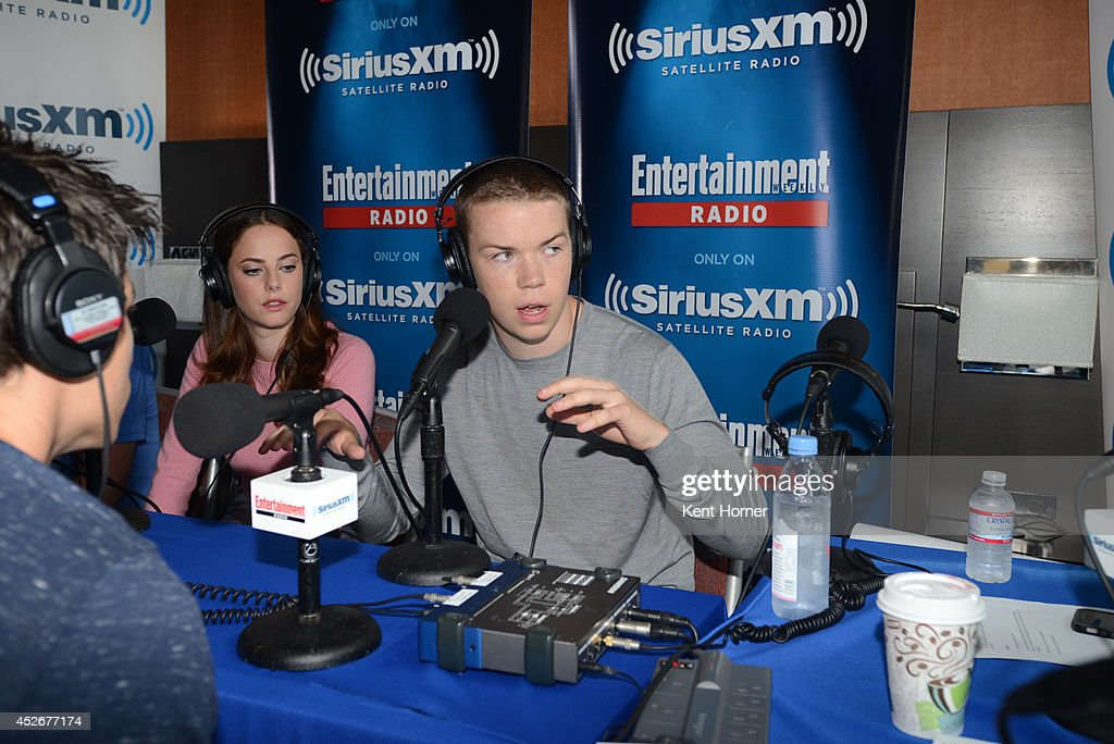 Will Poulter is interviewed on SiriusXM's Entertainment Weekly Radio channel from Comic-Con 2014 at The Hard Rock Hotel on July 25, 2014 in San Diego, California.