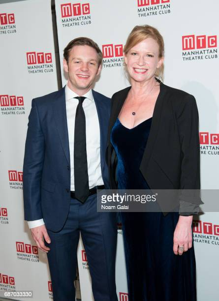 Will Pullen and Johanna Day attend the Manhattan Theatre Club Spring Gala 2017 at Cipriani 42nd Street on May 22 2017 in New York City