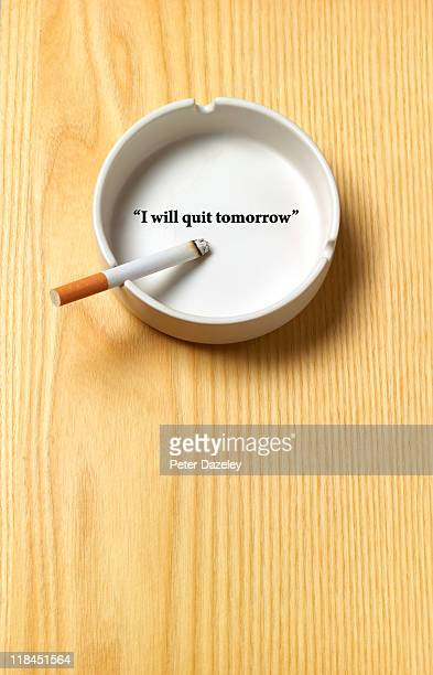 I will quit tomorrow ashtray