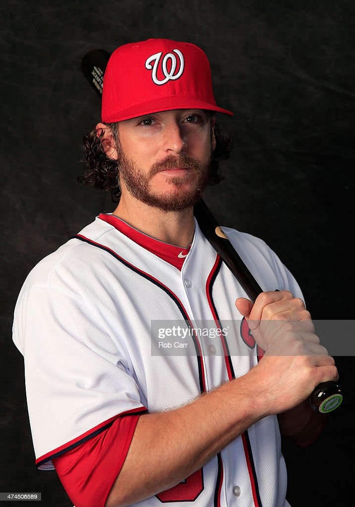Will Rhymes #10 of the Washington Nationals poses for a portrait at Space Coast Stadium during photo day on February 23, 2014 in Viera, Florida.