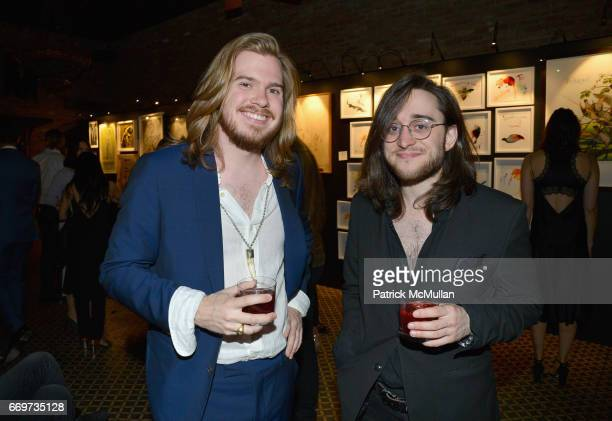 Will Rockefeller and Oliver Mashburn attend The Turtle Conservancy's 4th Annual Turtle Ball at The Bowery Hotel on April 17 2017 in New York City
