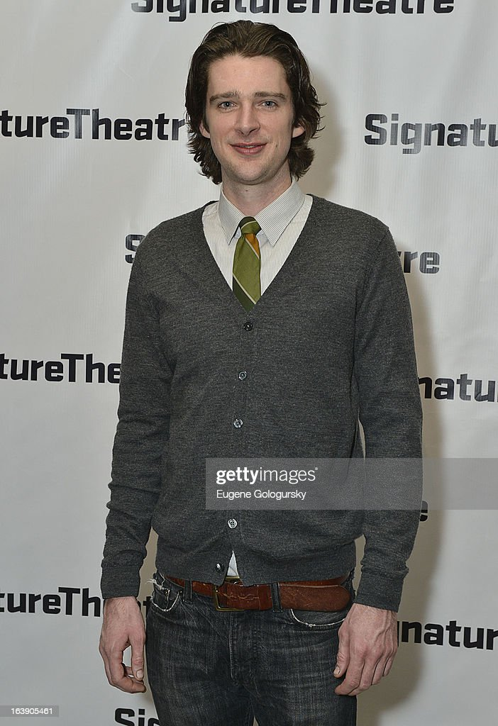 Will Rogers attends 'The Mound Builders' Opening Night Party at Signature Theatre Company's The Pershing Square Signature Center on March 17, 2013 in New York City.