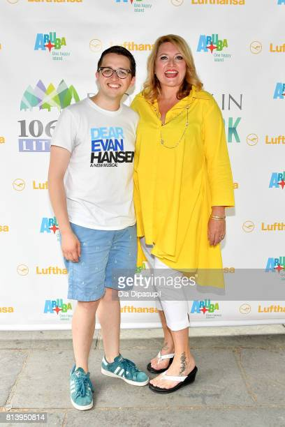 Will Roland and Delilah Rene attend 1067 LITE FM's Broadway in Bryant Park 2017 at Bryant Park on July 13 2017 in New York City