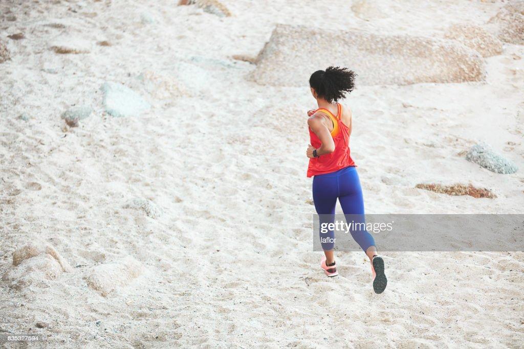 Je vais courir plus dur que mon mascara : Photo