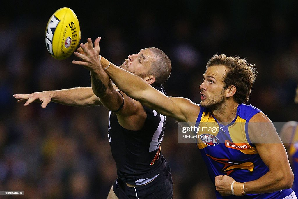 AFL Rd 6 - Carlton v West Coast