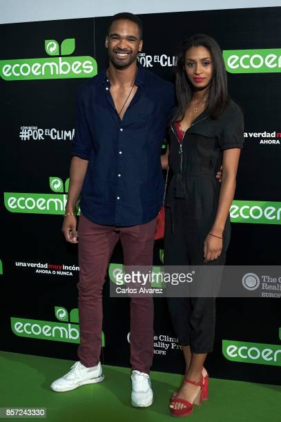 Will Shephard and Trisha Fernandez attend 'An Inconvenient Sequel Truth to Power' premiere at the Callao cinema on October 3 2017 in Madrid Spain