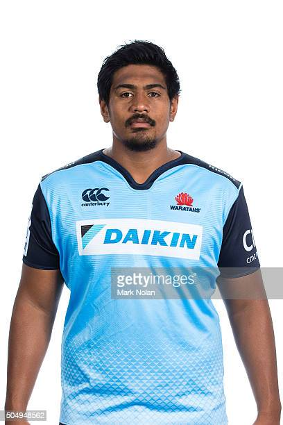 Will Skelton poses during the Waratahs 2016 Super Rugby headshots session at Allianz Stadium on January 14 2016 in Sydney Australia