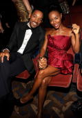 NEW YORK JUNE 13 Will Smith and Jada Pinkett Smith in the audience at the 64th Annual Tony Awards at Radio City Music Hall on June 13 2010 in New...