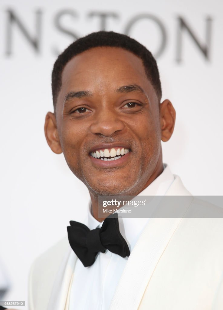 Will Smith arrives at the amfAR Gala Cannes 2017 at Hotel du Cap-Eden-Roc on May 25, 2017 in Cap d'Antibes, France.