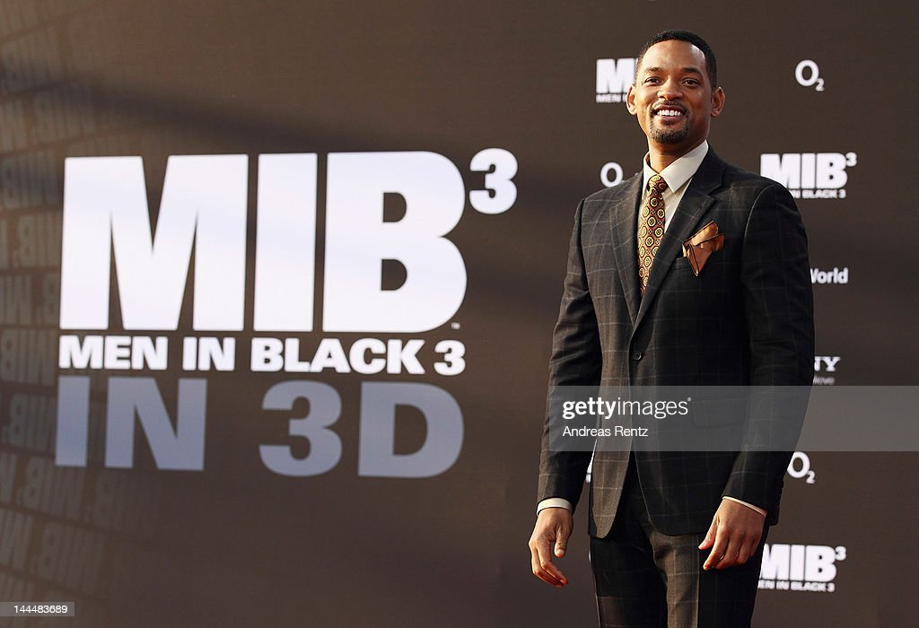 Will Smith arrives for the Men In Black 3 Germany Premiere at O2 World on May 14, 2012 in Berlin, Germany.